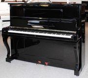 Klavier Seiler 131 schwarz poliert