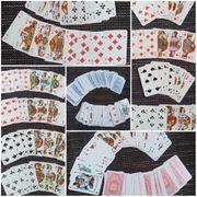 versch Kartenspiel Skat MauMau Spielkarten