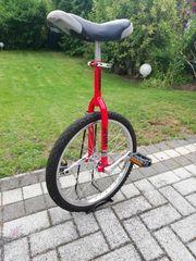Einrad rot 20 Zoll plus