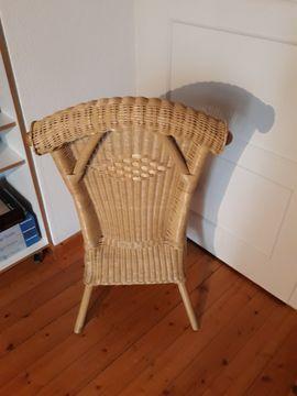 Sonstige Möbel antiquarisch - Rattanstuhl Wiener Geflecht Stuhl