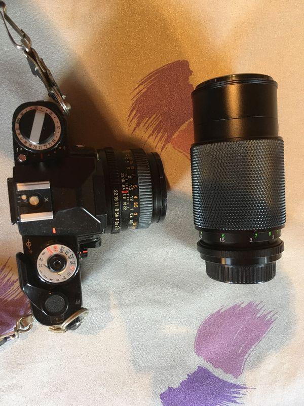 Spiegelreflexkamera RevueFLEX AC2 wenig benutzt
