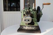 Rafflenbeul MS 200 Doppelmaschine Leder-