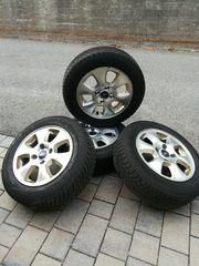 Winterreifen auf Original Ford-Felge