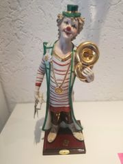 Skulptur Clown mit Tuba