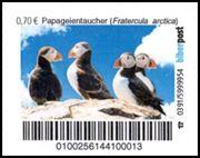 Biberpost Vögel Papageientaucher Satz postfrisch