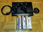 Playstation PS3 2 Controller Spiele