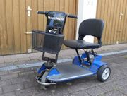 Elektromobil Seniorenmobil Reisemobil klappbar