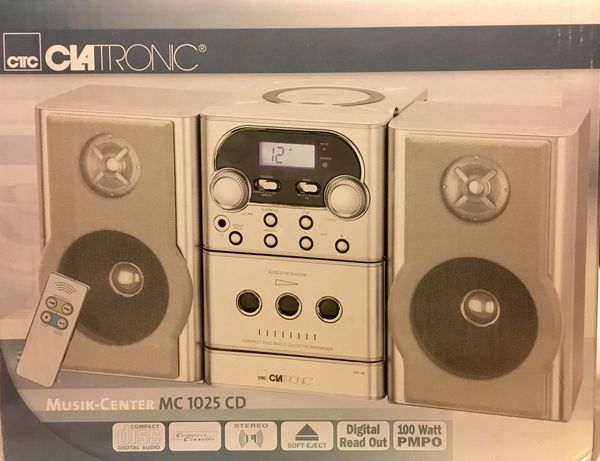CIATRONIC Musik-Center MC 1025 CD