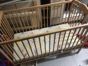 Holz Babybett Kinderbett Juniorbett mit