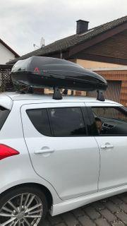 Dachbox Suzuki Swift inkl Träger