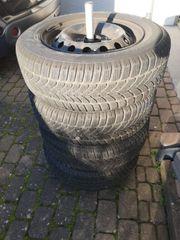 Winterreifen 195 R15 91T Dunlop