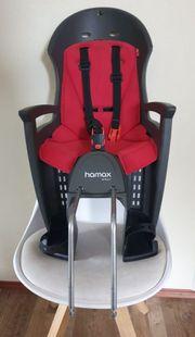 Kindersitz Hamax Smiley mit Radhalterung