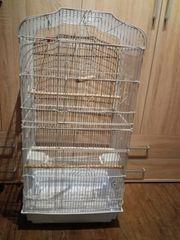 Vogelkäfig 92x45x35 cm in weis