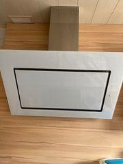 Dunstabzugshaube Abluft 90 cm weiß