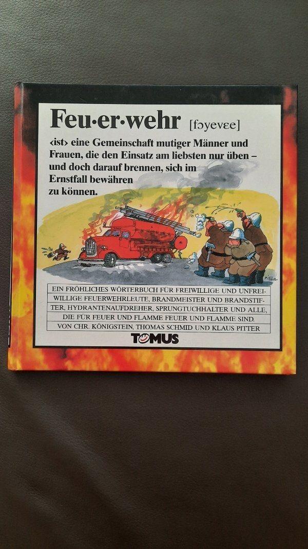Lustiges Fröhliches Wörterbuch Feuerwehr - Tomus