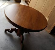 Antiken Nussbaum Tisch