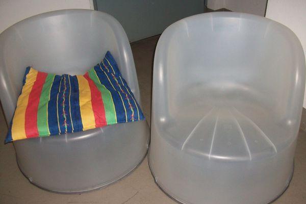 Sessel stabiler Kunststoff wetterf 70cm