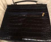 Elegante schwarze DamenAktentasche