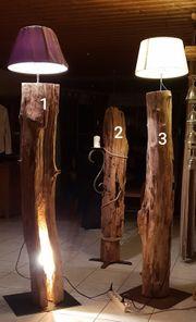 Unikate an Stehlampen zu verkaufen