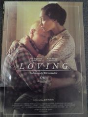 2016 Loving A1 Kino Plakat