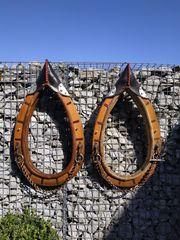 Pferde Kutsche Spitzkummet Arbeitsgeschirre