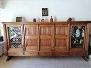 Echt-Holz Wohnzimmer Schrank