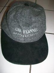 Kappe Cap Mütze Hut grau