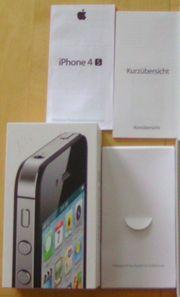 Apple iphone 4S schwarz 16GB