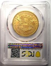 1863-S Liberty Gold Double Eagle