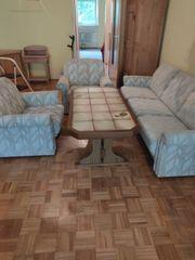 Couch 2 Sessel Tisch