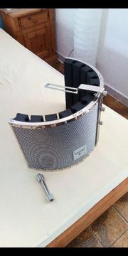 AUNA Mikrofon Komplettset mit Schallschirm