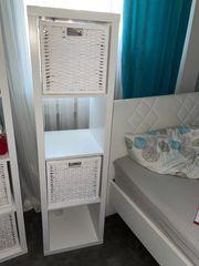 2 IKEA Regale mit 4
