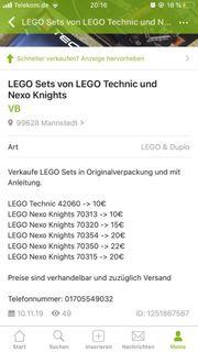 Lego im top Zustand