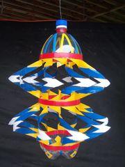 Windspiel Handarbeit Plastikflasche Geschenk-Idee