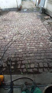 Ca 45m2 altes Kopfsteinpflaster