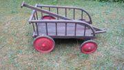 alter kleiner Leiterwagen Holz