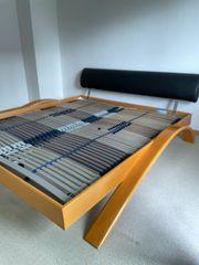 180x200 Bett mit verstellbaren Lattenrosten