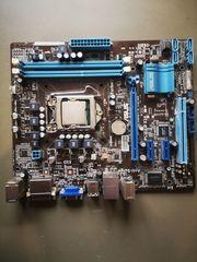 Asus P8H61-M Mainboard mit Prozessor