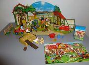 Inhalt von Playmobil Adventskalender Reiterhof