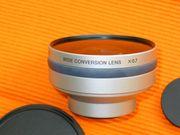 Sony Super-Weitwinkelobjektiv VCL-HG0737 Sony VCL