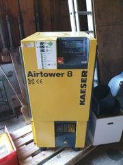 Kaeser Schraubenkompressor Airtower 8 Kältetrockner