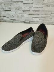 Crane Stoff Schuhe Gr 39