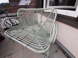 Gartenbank aus Rattangeflecht: Kleinanzeigen aus Schwäbisch Gmünd - Rubrik Gartenmöbel
