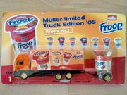 Werbetruck Mini-Truck Molkerei MÜLLER Froop