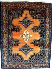 Orient-Teppich Senneh antik 156x119 T071