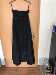 Abendkleid schwarz Größe 40