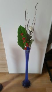 Deko Kristall Design Vase