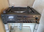AKAI Stereoanlage mit Plattenspieler