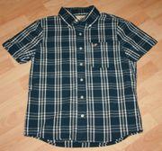 NEU - Kariertes Hemd - Größe M - blau-weiß