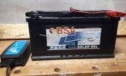 SOLAR Batterie Gel BSA 100Ah 12V